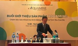 Aquamine ra mắt Bộ sản phẩm sức khỏe mới tại Việt Nam