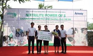 Amway Việt Nam khởi động chiến dịch Nutrilite Power of 5 lần thứ 4