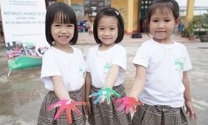 Amway và hành trình cải thiện tốt hơn tình trạng dinh dưỡng ở trẻ em