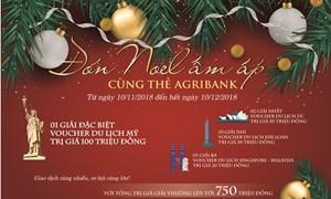 Đón Noel ấm áp cùng thẻ Agribank