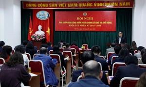 Công đoàn Bộ Tài chính tổ chức Hội nghị Ban Chấp hành Công đoàn Bộ lần thứ VIII mở rộng