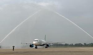 Bamboo Airways khai trương đường bay TP. Hồ Chí Minh - Thanh Hóa