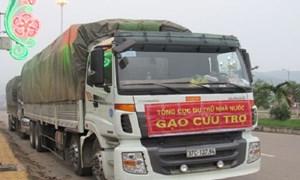 Xuất cấp hơn 8.400 tấn gạo cho 12 địa phương dịp Tết Nguyên đán Tân Sửu