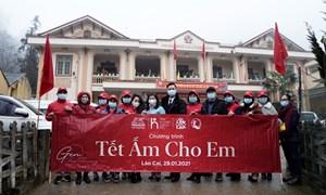 Generali Việt Nam trao quà Tết cho 300 trẻ em và gia đình có hoàn cảnh khó khăn tại Lào Cai