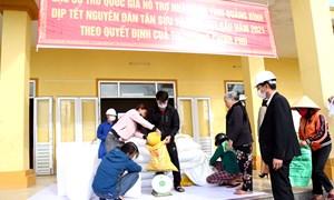 Khẩn trương xuất cấp gạo hỗ trợ người dân trong dịp Tết Nguyên đán Tân Sửu 2021