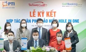 PTI hợp tác triển khai sản phẩm bảo hiểm H.I.O cho golfer