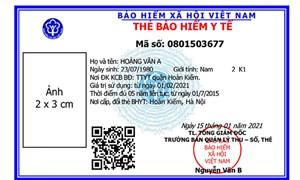 Từ ngày 01/04, sẽ đưa thẻ BHYT theo mẫu mới vào sử dụng