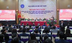 Hội nghị trực tuyến toàn quốc Đánh giá kết quả 25 năm thực hiện chính sách BHXH, BHYT