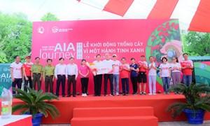 """AIA Việt Nam phát động chương trình """"Vì một hành tinh xanh"""""""