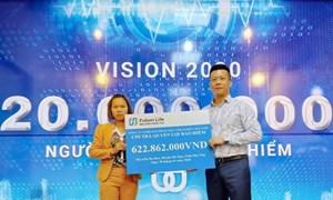 Fubon Life Việt Nam chi trả 622 triệu đồng quyền lợi bảo hiểm cho khách hàng tại Phú Thọ