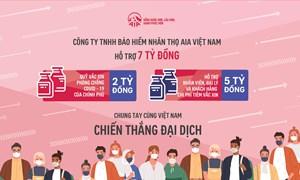 AIA Việt Nam ủng hộ 7 tỷ đồng mua vắc xin phòng chống dịch Covid-19