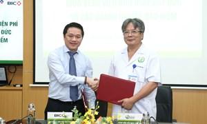 BIC hợp tác với Bệnh viện Hữu nghị Việt Đức triển khai dịch vụ bảo lãnh viện phí