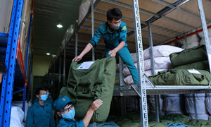 Xuất cấp trang bị cứu hộ, cứu nạn  phục vụ cho phòng chống dịch Covid-19