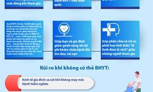 [Infographics] Lợi ích khi tham gia BHYT hộ gia đình
