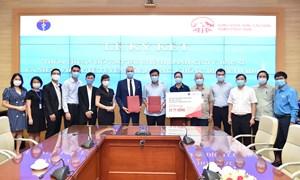 Hỗ trợ tài chính đối với lực lượng y tế tham gia phòng, chống dịch Covid-19