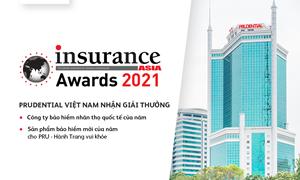 """Prudential Việt Nam được vinh danh là """"Công ty bảo hiểm nhân thọ quốc tế của năm"""""""