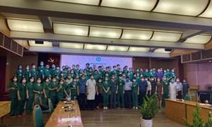 Hơn 1.500 giảng viên, sinh viên lên đường chi viện TP. Hồ Chí Minh phòng, chống dịch COVID-19