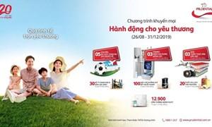 """Prudential Việt Nam triển khai chương trình khuyến mại """"hành động cho yêu thương"""""""