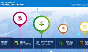 Hướng dẫn đăng ký online nhận lương hưu qua tài khoản ngân hàng cá nhân