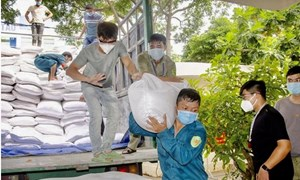 Xuất cấp 739,86 tấn gạo dự trữ quốc gia hỗ trợ người dân tỉnh Bình Định bị hạn hán
