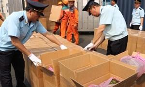 3 tháng, lực lượng hải quan phát hiện, bắt giữ 4.181 vụ vi phạm
