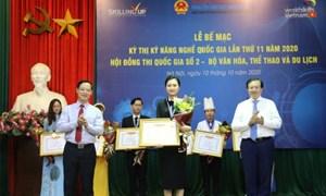 Hà Nội có nhiều thí sinh giành huy chương Vàng nhất kỳ thi kỹ năng nghề quốc gia 2020