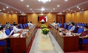 Đảng ủy Bộ Tài chính tham dự Hội nghị thông báo nhanh kết quả Hội nghị Trung ương 4, khóa XIII
