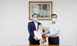 Bổ nhiệm Phó Trưởng ban Tổ chức Đảng ủy Bộ Tài chính nhiệm kỳ 2020-2025