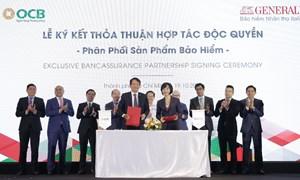 """Generali Việt Nam """"bắt tay"""" OCB phân phối các sản phẩm bảo hiểm qua kênh ngân hàng"""