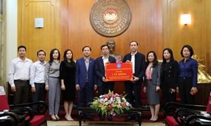 Bảo hiểm Xã hội Việt Nam ủng hộ 1 tỷ đồng hỗ trợ đồng bào miền Trung bị bão lũ