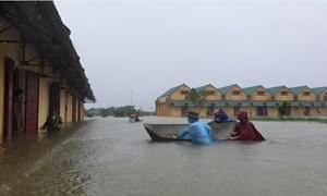Cục DTNN khu vực Nghệ Tĩnh kiên cường ứng phó với bão lũ, đảm bảo an toàn các điểm kho