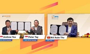 PTI ký kết hợp tác với Công ty Bảo hiểm công nghệ hàng đầu của Singapore