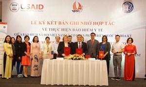 """Bảo hiểm Xã hội Việt Nam """"bắt tay"""" USAID trong lĩnh vực bảo hiểm y tế"""