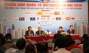 Khoảng 1.600 gian hàng tham gia Vietbuild Hà Nội 2018 lần thứ 3