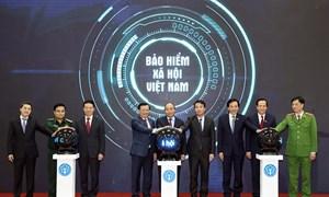 """[Ảnh] BHXH Việt Nam ra mắt ứng dụng """"VssID- Bảo hiểm xã hội số"""""""