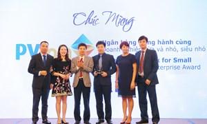 """PVcomBank nhận giải thưởng """"Ngân hàng Việt Nam tiêu biểu 2018"""""""