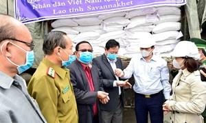 Xuất cấp 1.000 tấn gạo dự trữ hỗ trợ nhân Lào khắc phục hậu quả thiên tai