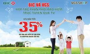 BIC giảm tới 35% phí bảo hiểm cho khách hàng mua sản phẩm trực tuyến