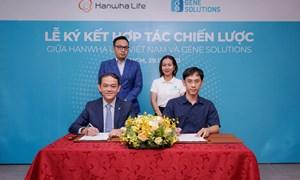 Hanwha Life Việt Nam hợp tác chiến lược với Lotte Finance và Gene Solutions