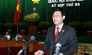 Bộ trưởng Bộ Tài chính Vương Đình Huệ: Ngành Tài chính thực hiện nghiêm túc Nghị quyết của Quốc hội về chất vấn và trả lời chất vấn