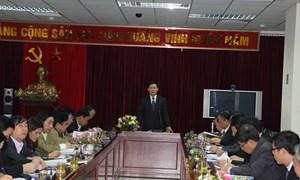 Bộ trưởng Vương Đình Huệ làm việc với Cục Thuế TP. Hà Nội về thu NSNN