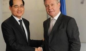 Singapore, EU hoàn tất thỏa thuận thương mại tự do