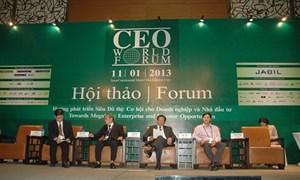 """""""Hướng phát triển siêu đô thị: Cơ hội cho doanh nghiệp và nhà đầu tư"""""""