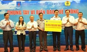 PVN và PVcomBank ủng hộ Cảnh sát biển, Kiểm ngư Việt Nam hơn 17 tỷ đồng