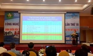 Bộ Tài chính tiếp tục đứng thứ Nhất trong Vietnam ICT Index 2014