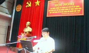 Cục Thuế Thái Nguyên: Tổ chức Hội nghị tập huấn Thông tư 119/2014/TT-BTC