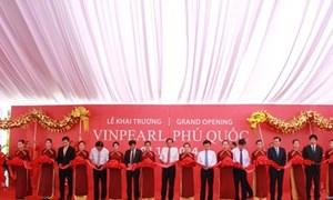 Tập đoàn Vingroup khai trương khu nghỉ dưỡng Vinpearl Phú Quốc