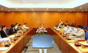 Bầu đồng chí Đỗ Hoàng Anh Tuấn giữ chức Bí thư Đảng ủy Bộ Tài chính nhiệm kỳ 2010 - 2015