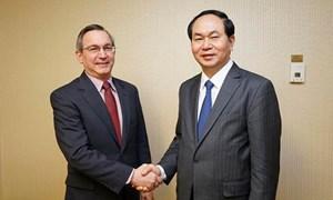 Bộ trưởng Trần Đại Quang kết thúc tốt đẹp chuyến công tác tại Hoa Kỳ