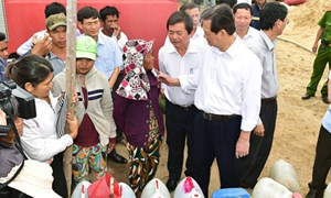 Chính phủ sẽ tiếp tục hỗ trợ gạo cho người dân ở Ninh Thuận